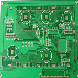 High Quality Gold Surface PCB Circuit Board,  Quickturn PCB Factory, Express Circuit Board Production in Shenzhen, China
