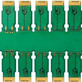 Hard Gold Finger Connectors PCB Circuit Board
