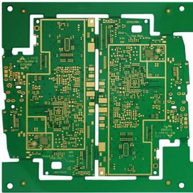 High Density Interconnector(HDI) Laser Microvia, Blind Via Buried Via Multilayers PCB Fast Prototype Producing